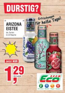 Arizona Eistee EUR 1,29