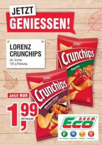 Lorenz Crunchips EUR 1,99