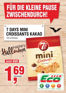 7Days Mini Croissants Kakao EUR 1,69